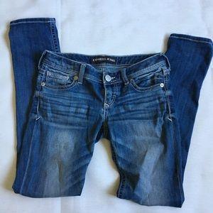 Express skinny Stella low rise jeans